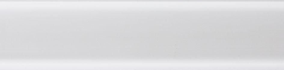 Soklová lišta NGF56, Dekor bílý
